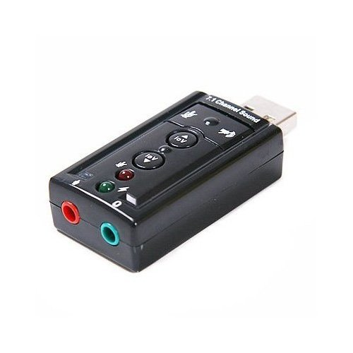 TOOGOO(R) 7.1 Kanal USB Extern Soundkarte Audio Adapter
