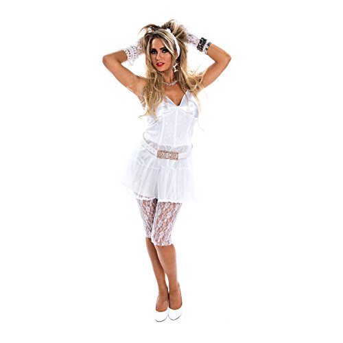 Morph OMPAL5679S Kostüm Women weiß ()