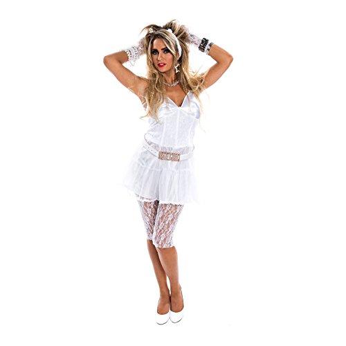 Morph OMPAL5679S Kostüm, Women, weiß, S