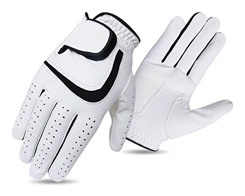 JL Golf all weather synthetic golf glove Mens - Choose size and dexterity (Medium)