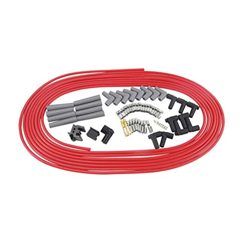 Lhcar 10m Spark Plug Wires Spiral Core 8.5mm Rosso per Chrysler Hemi PRO Stock per Ford Dodge