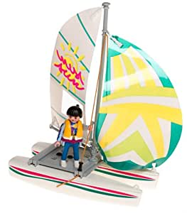 Playmobil Leisure barque type boat 3183 (japan import)
