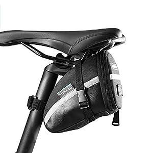 Ouken bicicleta bicicleta alforje xnumx pcs mountain bike bicicleta bicicleta bolsa de reparação bolsos ferramenta (cor aleatória)