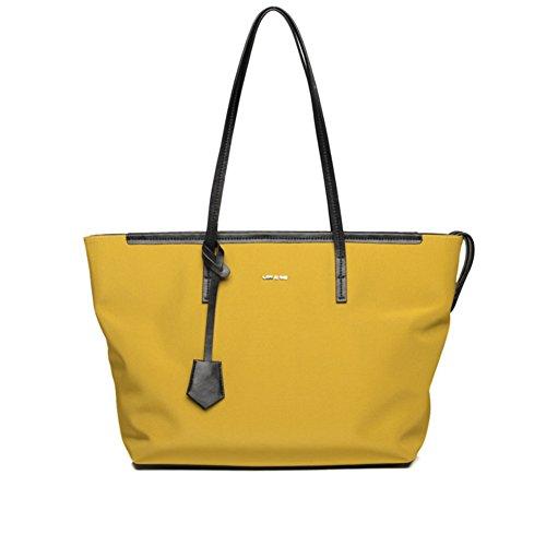 Borsetta della signora/semplice borsa canvas/nylon oxford tessuto monospalla borsa-E H