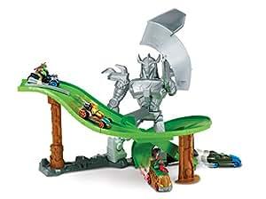 Tortues Ninja - 6760 - Véhicule Miniature - Circuit La Revanche de Shredder + 1 Véhicule