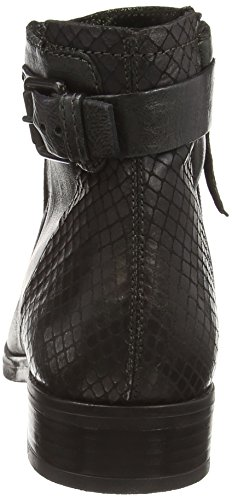 Mjus 767205-0201-0001 Damen Kurzschaft Stiefel Grün (British+British+Grafite+Nero)