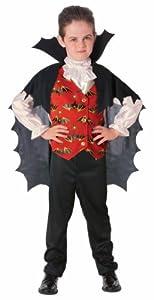 Disfraz de Conde Drácula para niño, infantil 5-7 años (Rubie