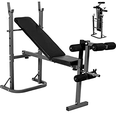 Progen Weight Bench Home Fitness Multi Gym Sit Up Workout Abs by PROGEN