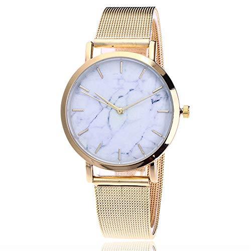 Damen Edelstahl Uhren,Klassisch Einfach Armbanduhr Mode geschäft mesh Uhr Edelstahl Analoge Quarz Uhren Armbanduhren Frauen Luxus Business Armbanduhr für Damen Mädchen damenuhren