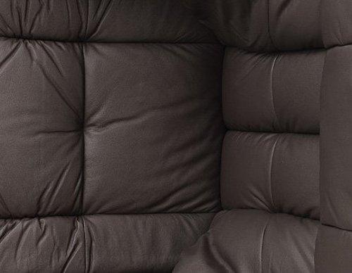 Robas Lund Relaxsessel Calgary mit Hocker schwarz - 8