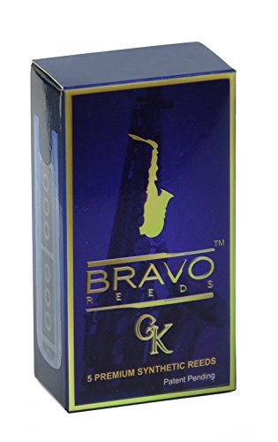 bravo-reeds-br-as20-alto-saxophone-synthetic-reed-pack-of-5