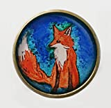 The Fox Brooch Vintage Style Pin/Badge Animal Wildlife Nature Jewellery NEW