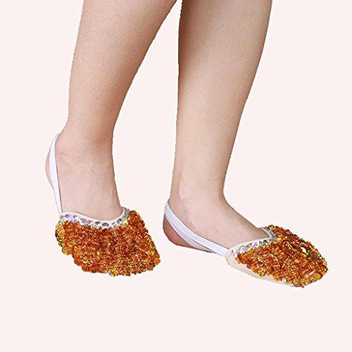 Dança Lantejoulas Natal Sapatos Do De Bailado Wgwioo Festa Ajudou Traje Ventre Presente De Do De Práticas Grande qBpxE