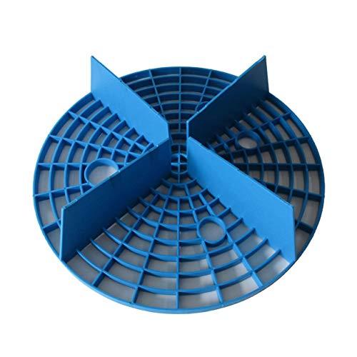 Autolavaggio grit guard pietra sabbia isolamento rete inserto washboard secchio d'acqua scratch dirt filter strumento di pulizia per auto 23,5 cm (colore: blu)