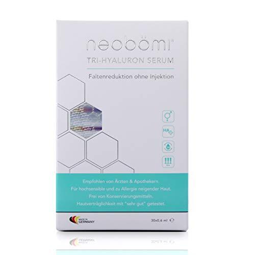 Neobömi Tri-Hyaluron Serum - Injektionsfreie Und Vegane Hautpflege Mit Hyaluronsäure