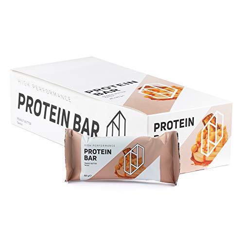 Neosupps Protein Bar Riegel Peanut Butter | Proteinreicher Snack für Zwischendurch | Einzelriegel oder 24er Pack | Schokoladiger Geschmack | 60g Protein Riegel, Gewicht:24x60g - Whey Protein Booster Schokolade