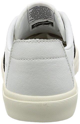 hummel Stockholm Low Sneaker weiß / schwarz