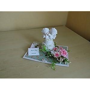 Hochzeit Turteltauben auf Hochzeitstorte Geldgeschenk Geschenkverpackung