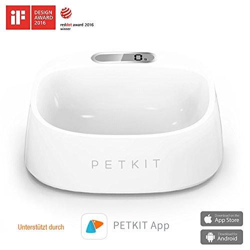 mypetkit Fresh ciotola per piccoli cani gatti con bilancia-Supporta attraverso un' app smartphone-intelligente Scodella anche per cucciolo Baby - Premium Piccoli Animali