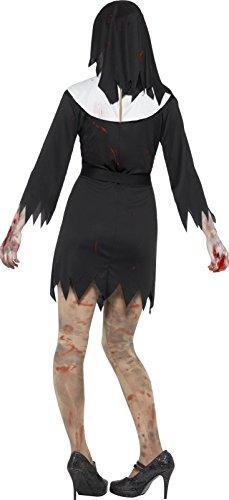 Imagen de smiffy 's mujer halloween zombie monja disfraz de hermana tamaño grande  alternativa