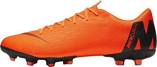 Nike Unisex-Erwachsene Mercurial Vapor XII Academy MG Fitnessschuhe, Mehrfarbig (Total Orange/Black-T 810), 44 EU