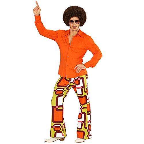 PARTY DISCOUNT NEU Herren-Kostüm Hemd, orange, Gr. L-XL