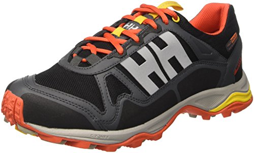 Helly Hansen Pace Trail 2 HT, Zapatillas de Atletismo Para Hombre, Negro (Black/Ebony/Sunrise), 43 EU