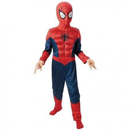 Ultimate Spider-Man Deluxe Kostüm für Kinder - Neues Design (Spiderman Kostüme Designs)