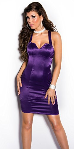 In-Stylefashion - Robe - Femme Or Or Violet - Lilas