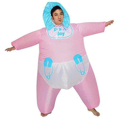 MIMI KING Baby Aufblasbares Kostüm Für Erwachsene, Cartoon Doll Halloween Cosplay