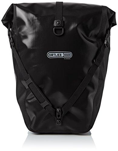 Ortlieb Erwachsene Gepäckträgertasche Back-Roller Classic Ql2.1 Paar Satteltasche, Schwarz, One Size