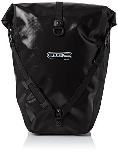 Ortlieb Gepäckträgertasche Back-Roller Classic Ql2.1 Paar, schwarz, 42 x 32 x 17 cm, 40 Liter, F5301