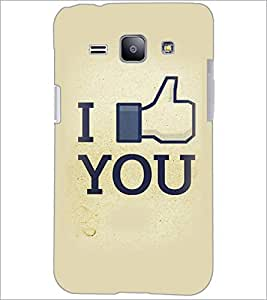 PrintDhaba Quote D-3411 Back Case Cover for SAMSUNG GALAXY J1 (Multi-Coloured)