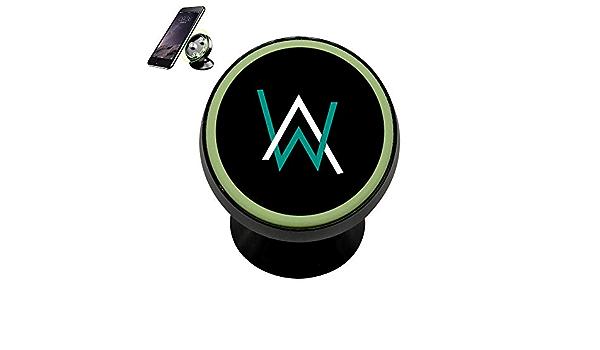 Magicq Kfz Halterung Für Alan Walker Logo Modisches Design Magnetisch Elektronik