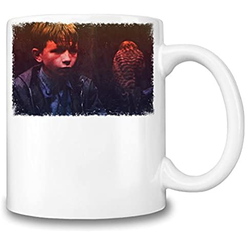 Kes Billy With Pet Tazza Coffee Mug Ceramic Coffee Tea Beverage Kitchen Mugs By Slick Stuff