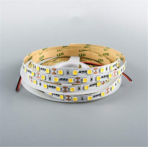 LED weiches Licht Gürtel ultrahelle Dekoration Display Schrank Tischlampe LKW Linie Licht Streifen Tropfen Kleber wasserdicht pro Meter 60 Lampe Perlen 5m 24V 5054 rotes Licht (Kleber Perlen Tropfen)