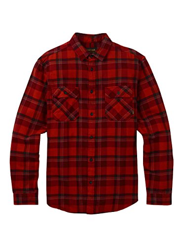 Burton Herren Brighton Flannel Hemd, Bitters Hawthorn Plaid, XL (Shirt Lake Woven)