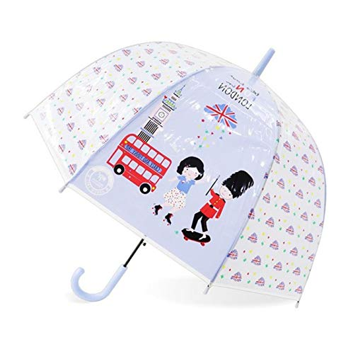 87dc947119c9e Kids Rainbow Umbrella Cute Unicorn Umbrellas Feather Transparent Umbrella  Semi Automatic Cartoon Umbrellas L