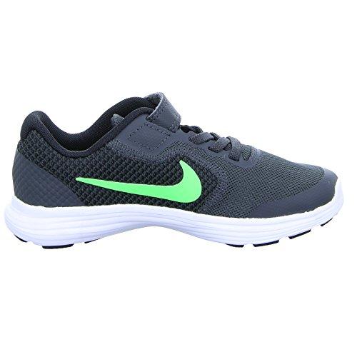 Nike Revolution 3 (PSV), Scarpe da Fitness Unisex – Bambini Verde (Green)