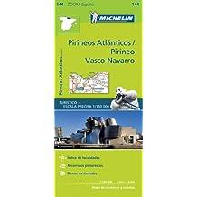 Pirineos Atlanticos Zoom Map 144 (Mapas Zoom Michelin)