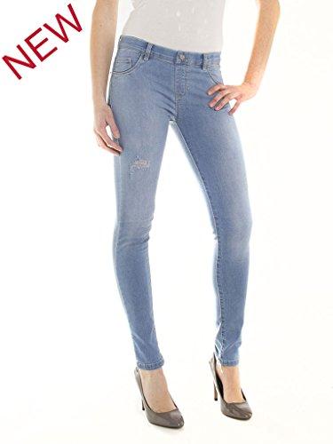 Carrera Jeans, Jeans Skinny Donna 510 - Lavaggio blu chiaro (super stone wash)