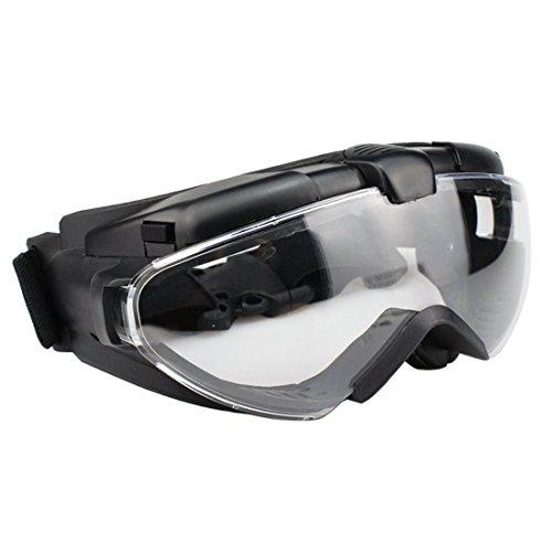 Riva776Yale Paintball Maskengläser,Hohe Transparenz Taktische Schutzbrille - Schwarz
