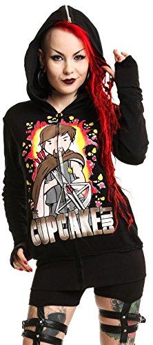 Cupcake Cult Kapuzenjacke WD HOOD Black