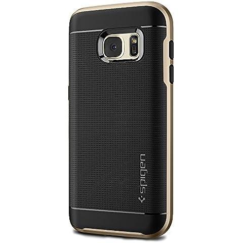 Spigen Neo Hybrid - Funda para móvil Samsung Galaxy S7, color dorado