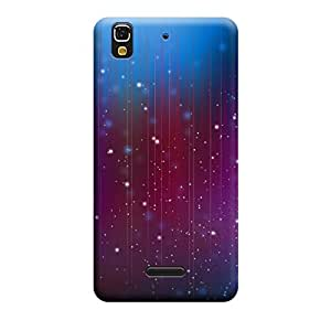 Digi Fashion Designer Back Cover with direct 3D sublimation printing for Micromax Yu Yureka