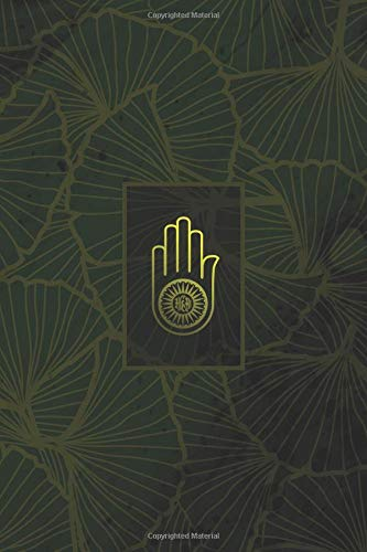 Monogram Jainism Notebook: Blank Journal Diary Memoir Log Logue