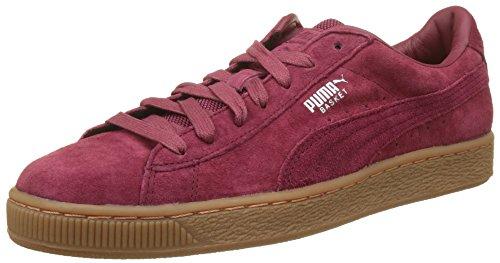 Puma Unisex-Erwachsene Basket Classic Weatherproof Sneaker, Rot (Tibetan Red-Tibetan Red), 40 EU (Rot Puma Wildleder)