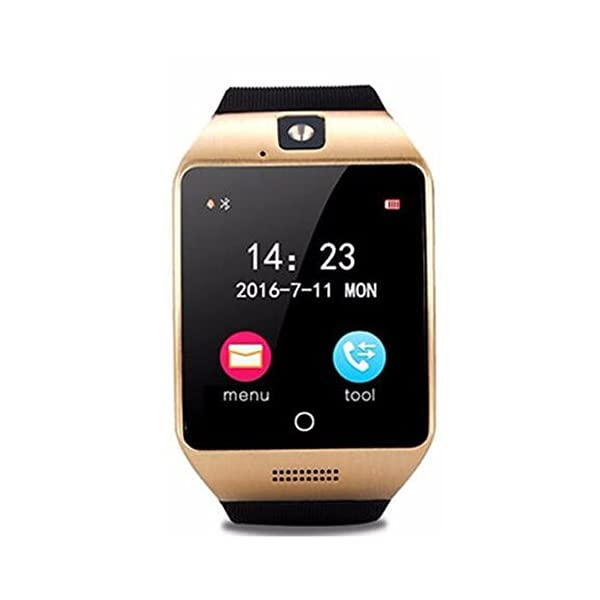 SmartWatch, reloj inteligente Bluetooth Q18 de 1.54 pulgadas, compatible con cámara NFC, tarjeta TF, reloj inteligente… 2