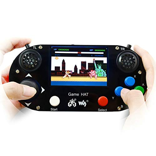 Raspberry Pi 3 Model B + Game cappello con 8,9 cm schermo LCD a bordo Gamepad per Raspberry Pi zero e zero W