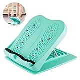 SFSDKJFGSD SHU Live Schnürung Platte FußmassagegerätFußstütze unter Schreibtisch Tragbare Slant Board Fußhocker Einstellbare Schrägbretter, Calf StretcherAnti-Slip Design, Ankle Stretching